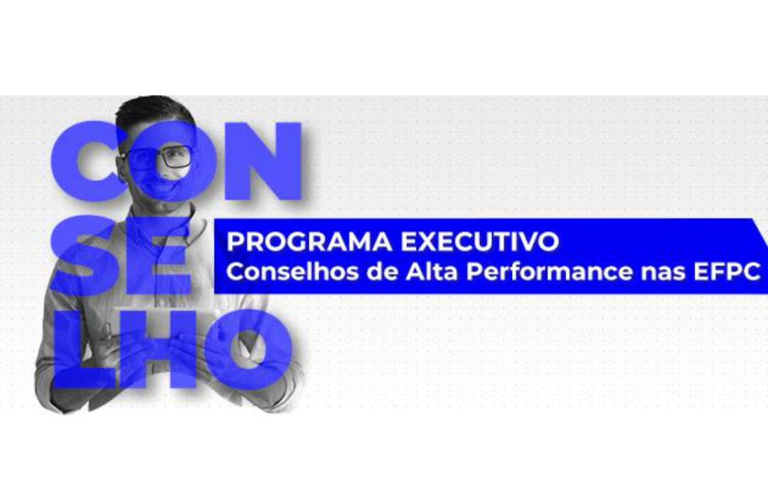 Treinamento Conselheiros de Alta Performance